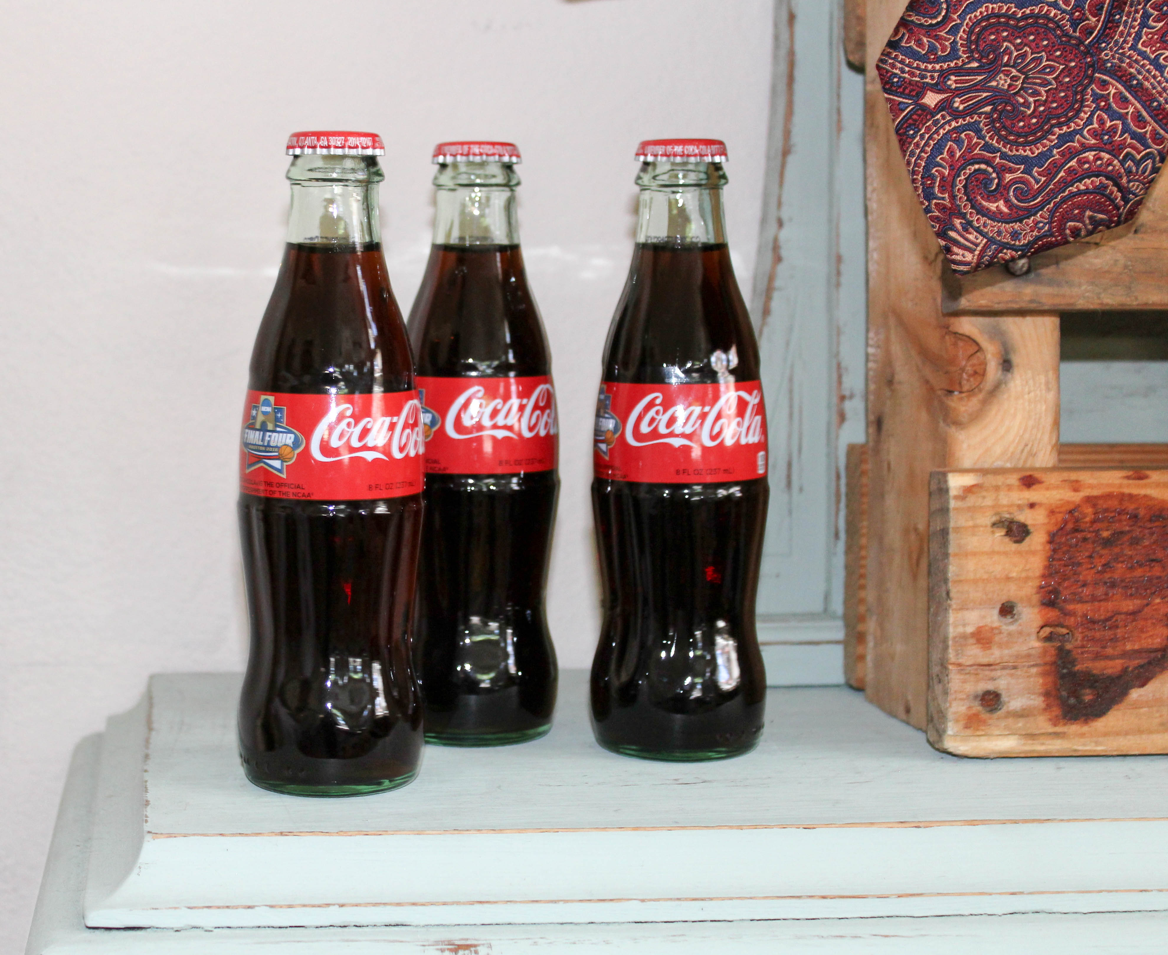 coca cola classic bottles glass vintage fathers day barbecue