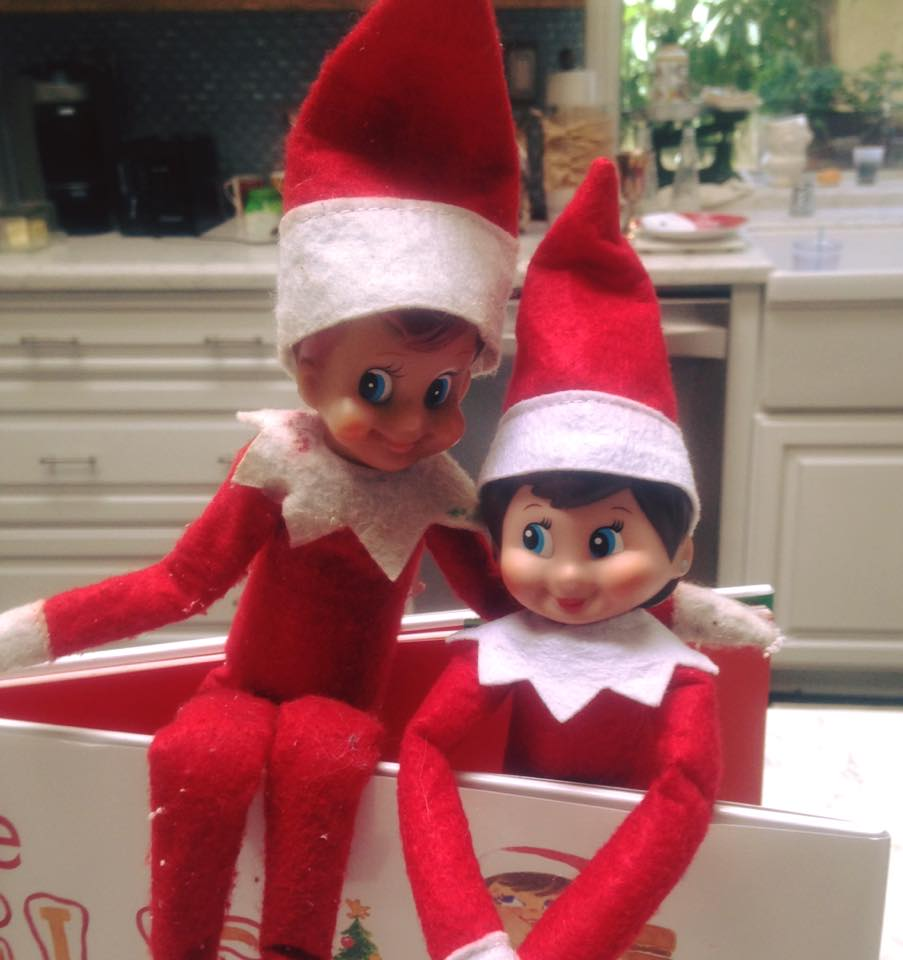 The Elf on The Shelf is Back!
