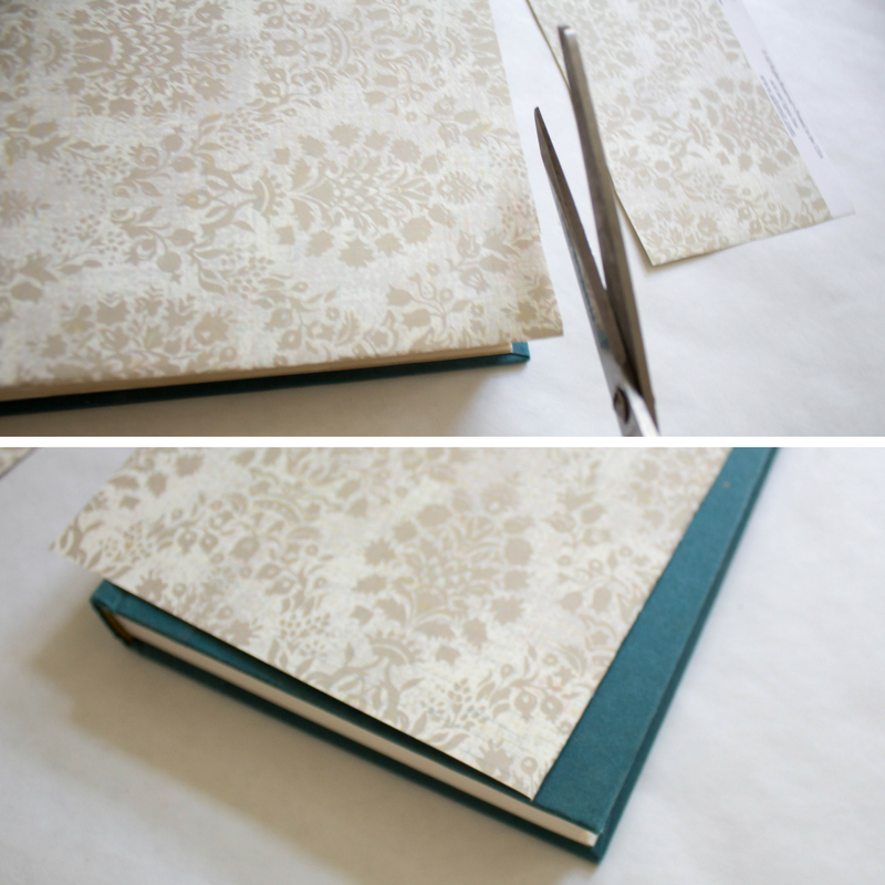 trim-cardstock-to-vintage-book-size