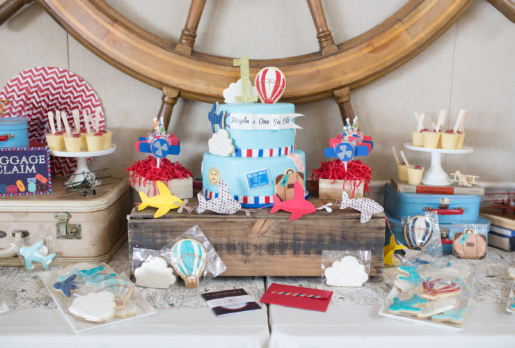Travel-Themed First Birthday Party