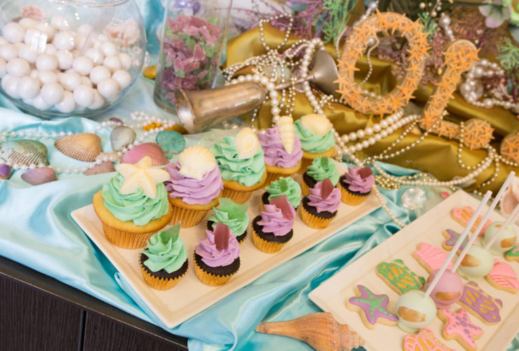 Host an Adorable Mermaid Party