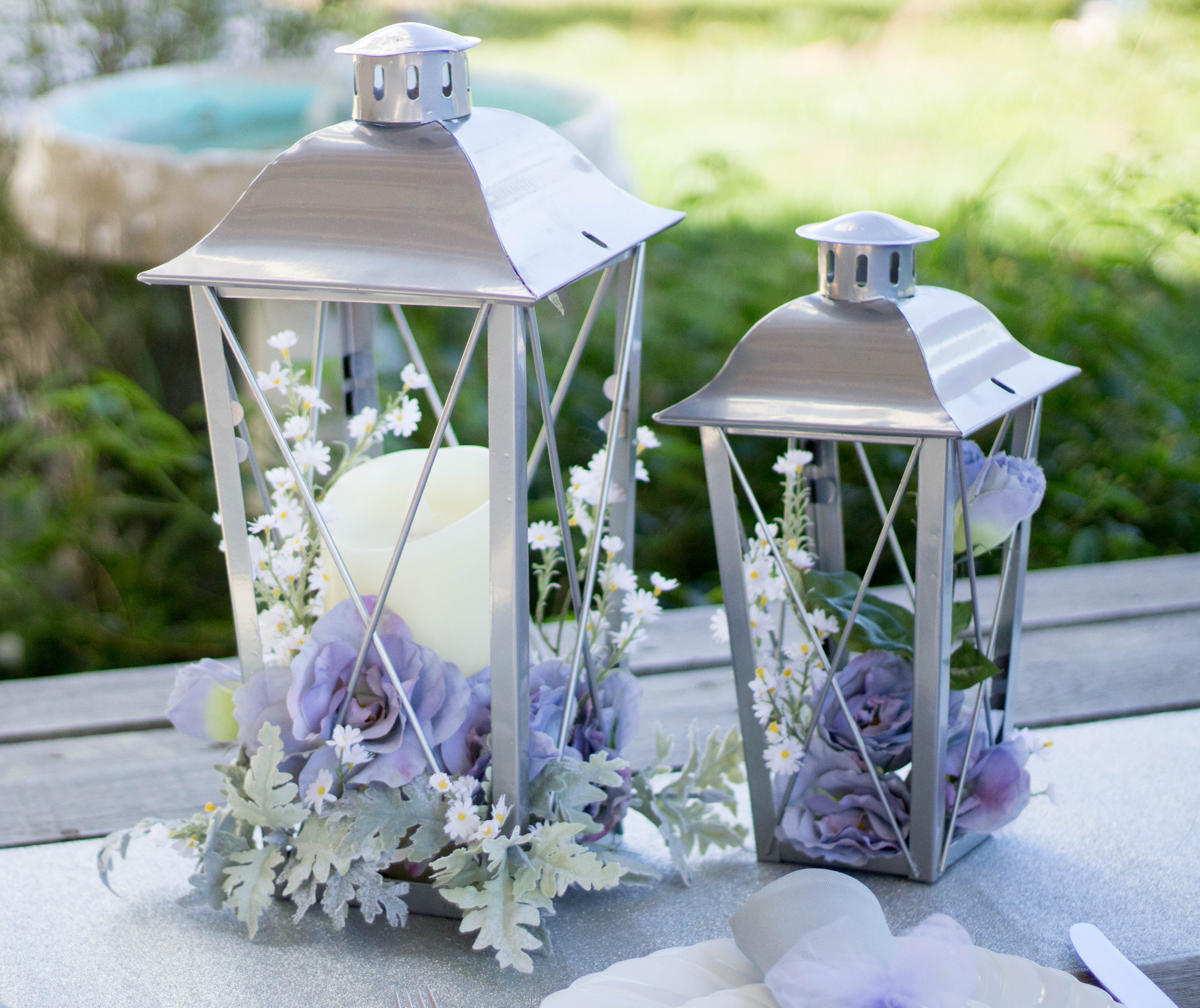Wedding Color Palette of Lavender, Yellow and Grey - Ritzy Parties