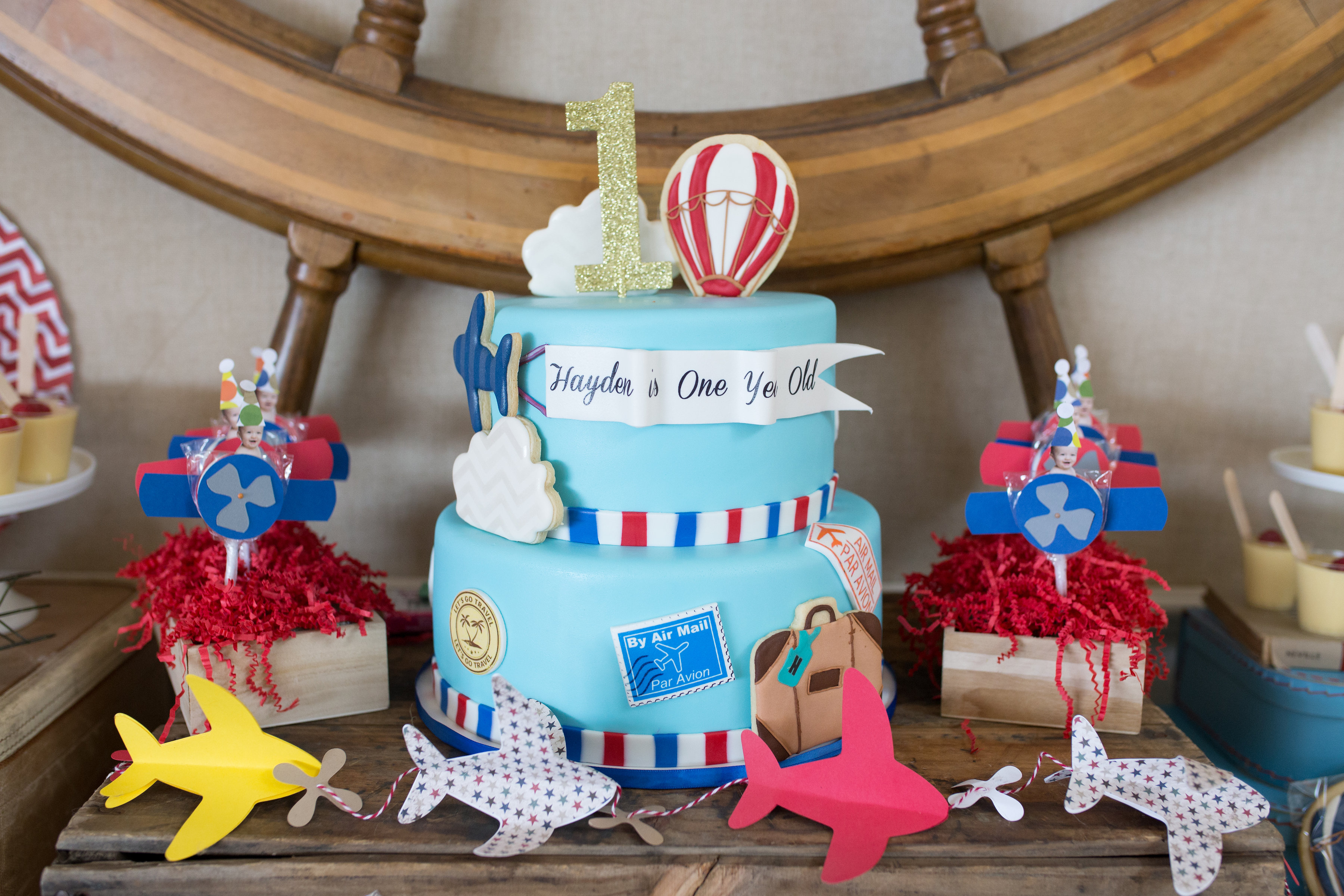 There Are So Many Milestones Achieved Within A Childs First Year The Unique Theme To Commemorate Little Boys Birthday Party Here