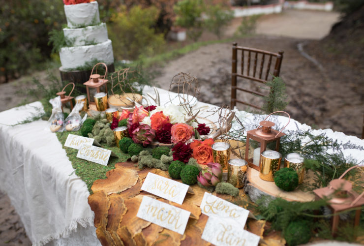 An Enchanting Forest-Themed Wedding in the Woods