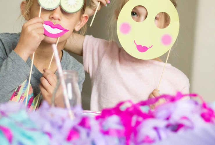 Girls will be perfectly pampered at this Spa Party!