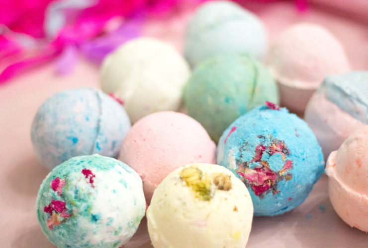 Why Buy When You Can DIY Your Own Giant Bath Bombs