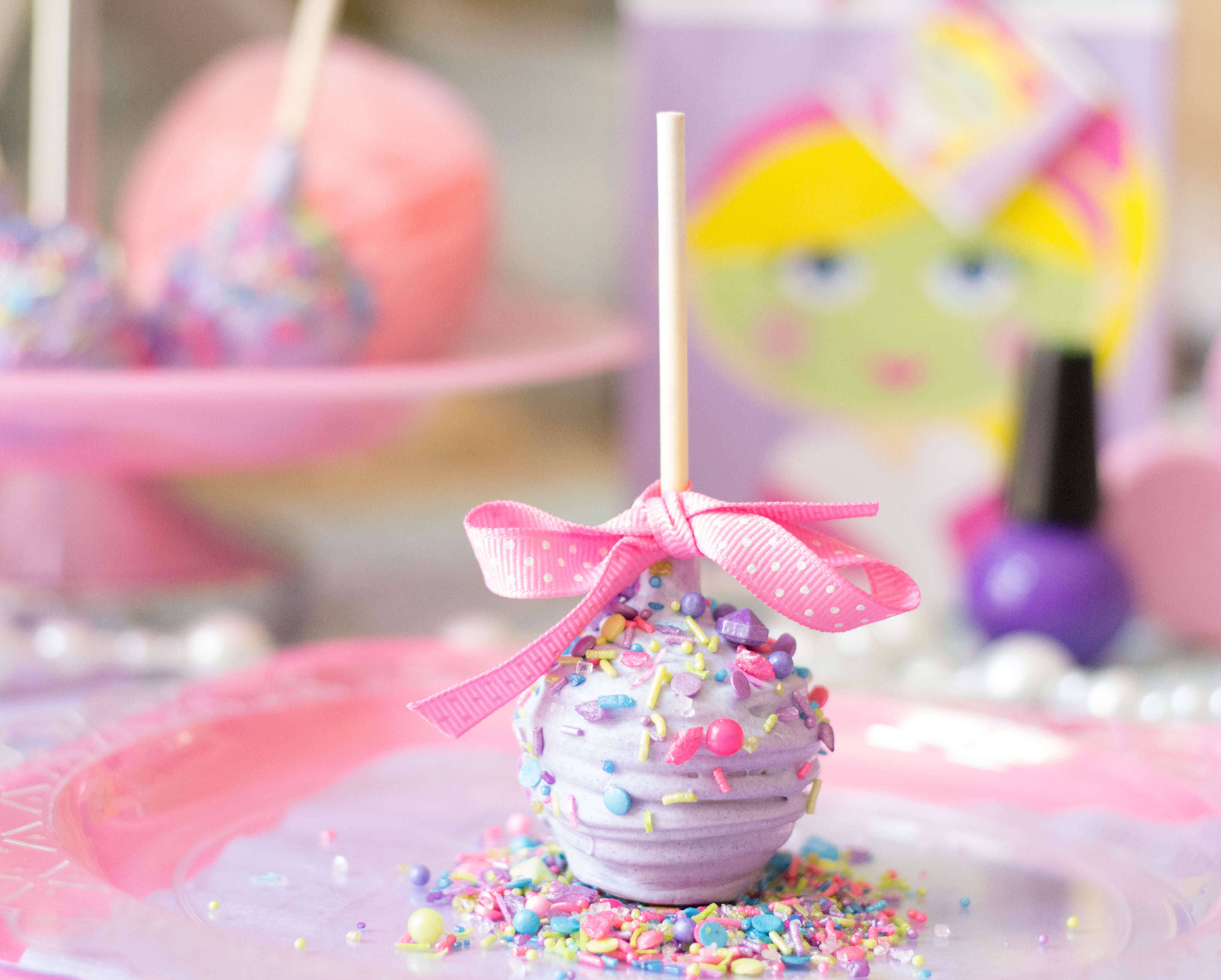 sprinkle mix home baking wedding favors diy cake pops homemade ...