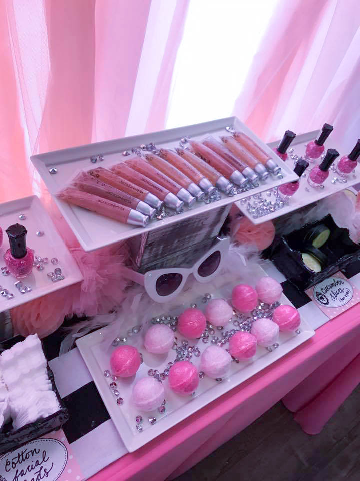 Barbie Glamour Spa Party Favor Station - Ritzy Parties