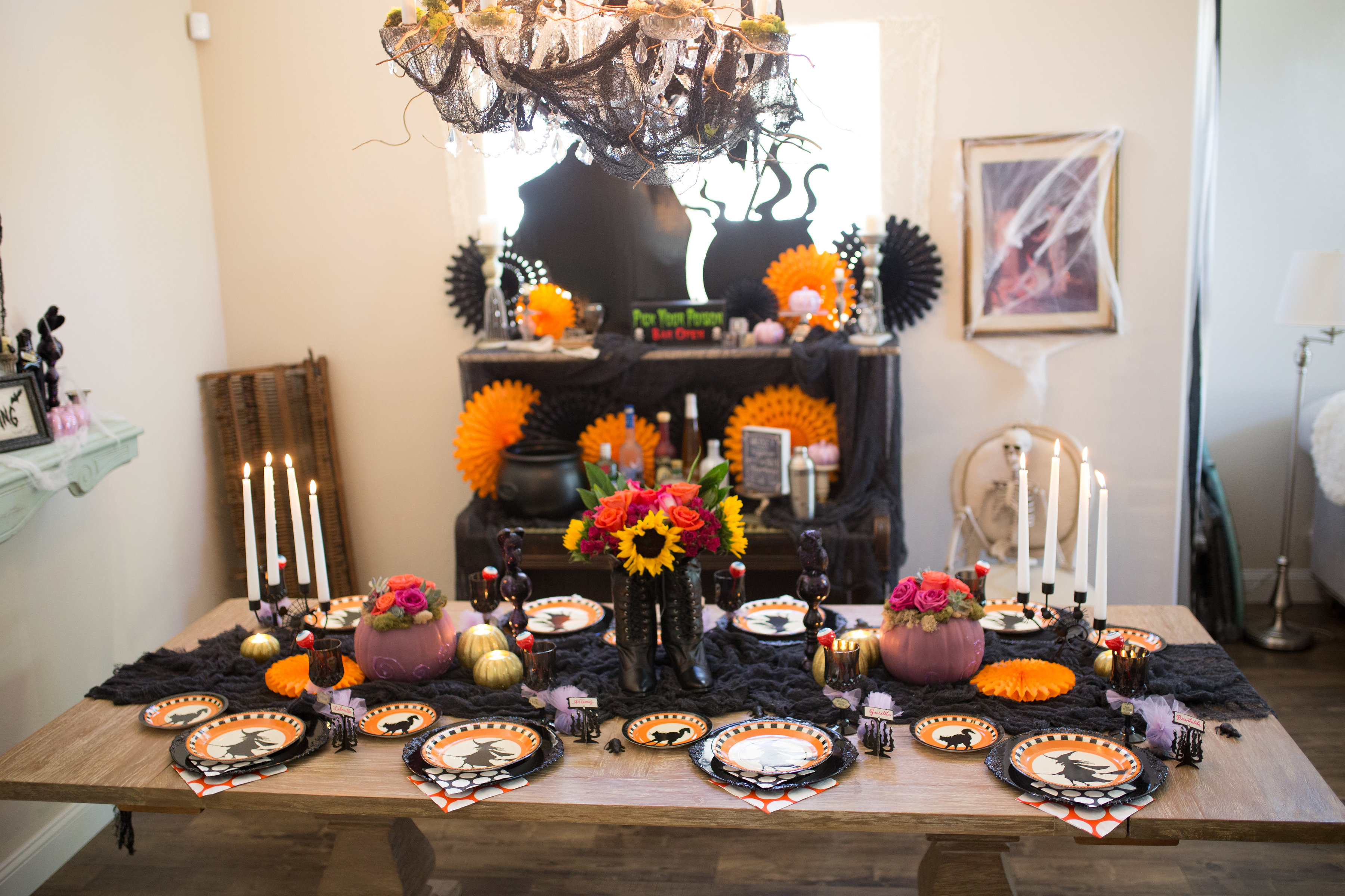 Witches Brew Halloween Party Decorating Ideas For Your Ghoul ...