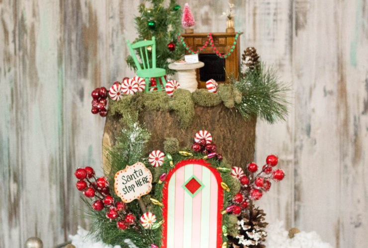Christmas Fairy House Creation