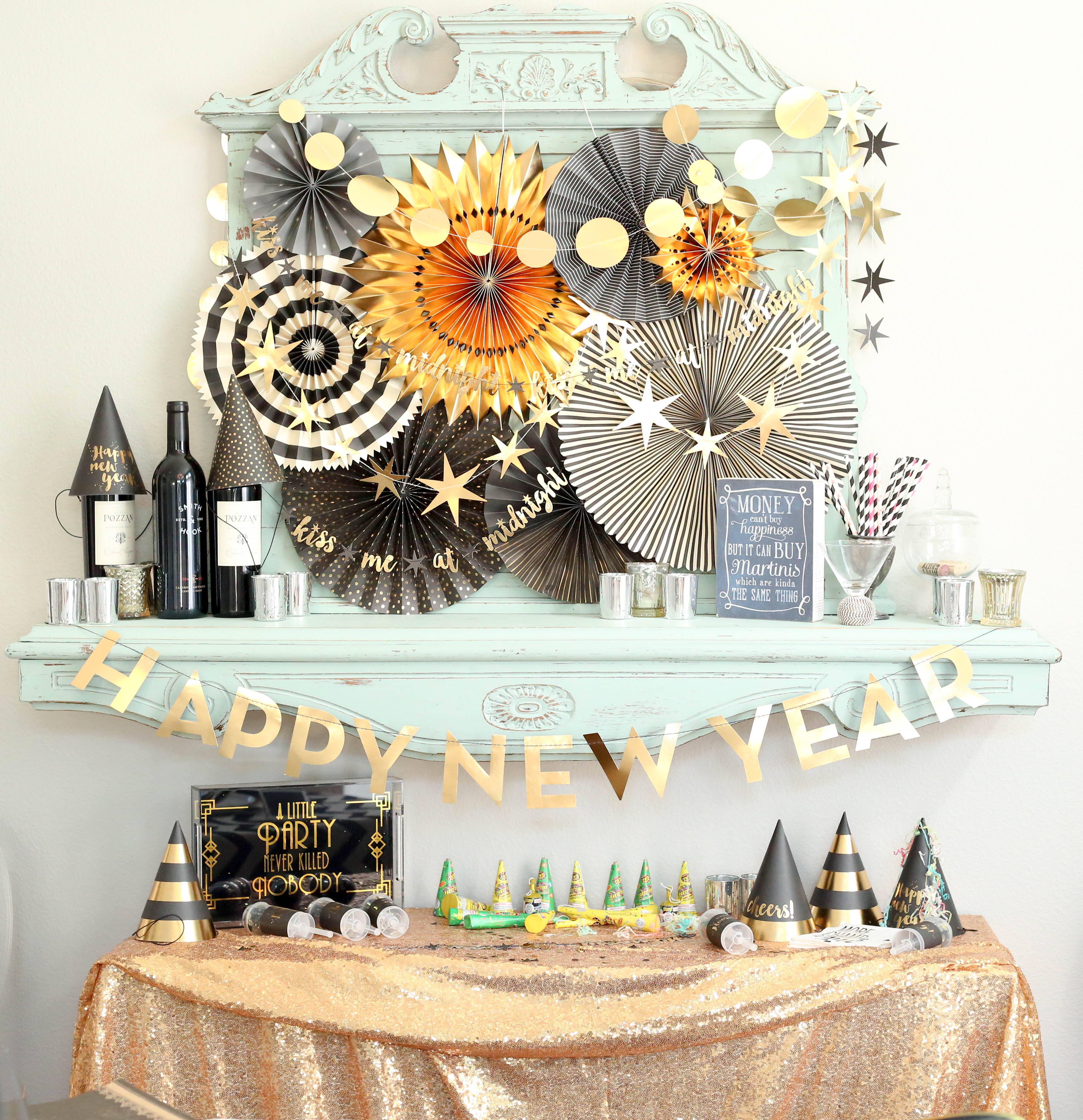 Party on the fly host a last minute new years event for Last minute party ideas