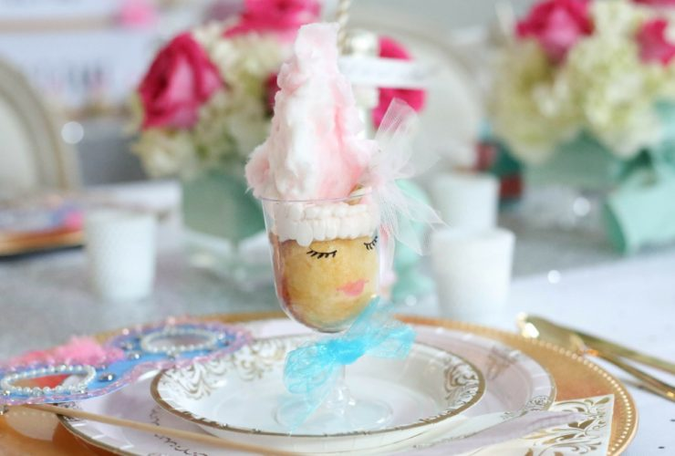 Marie Antoinette Themed Cake Tasting Party