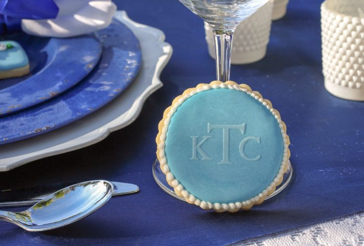 This Something Blue Bridal Shower is a Classic