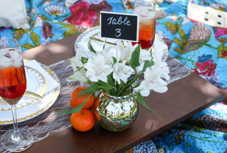 Summer Picnic Wedding is Fresh and Fun
