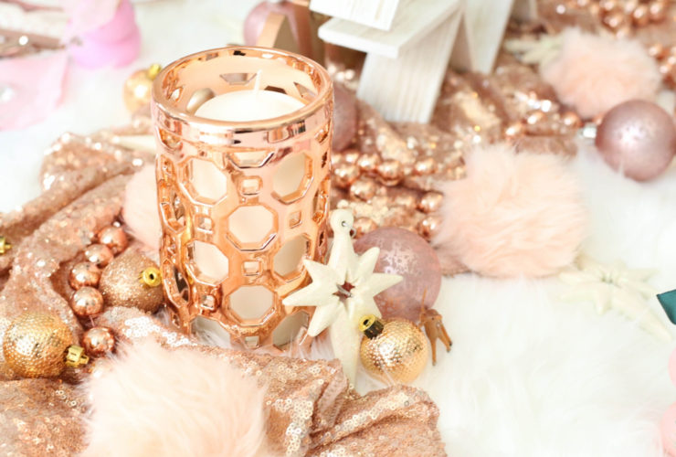 Rose Gold Christmas Party