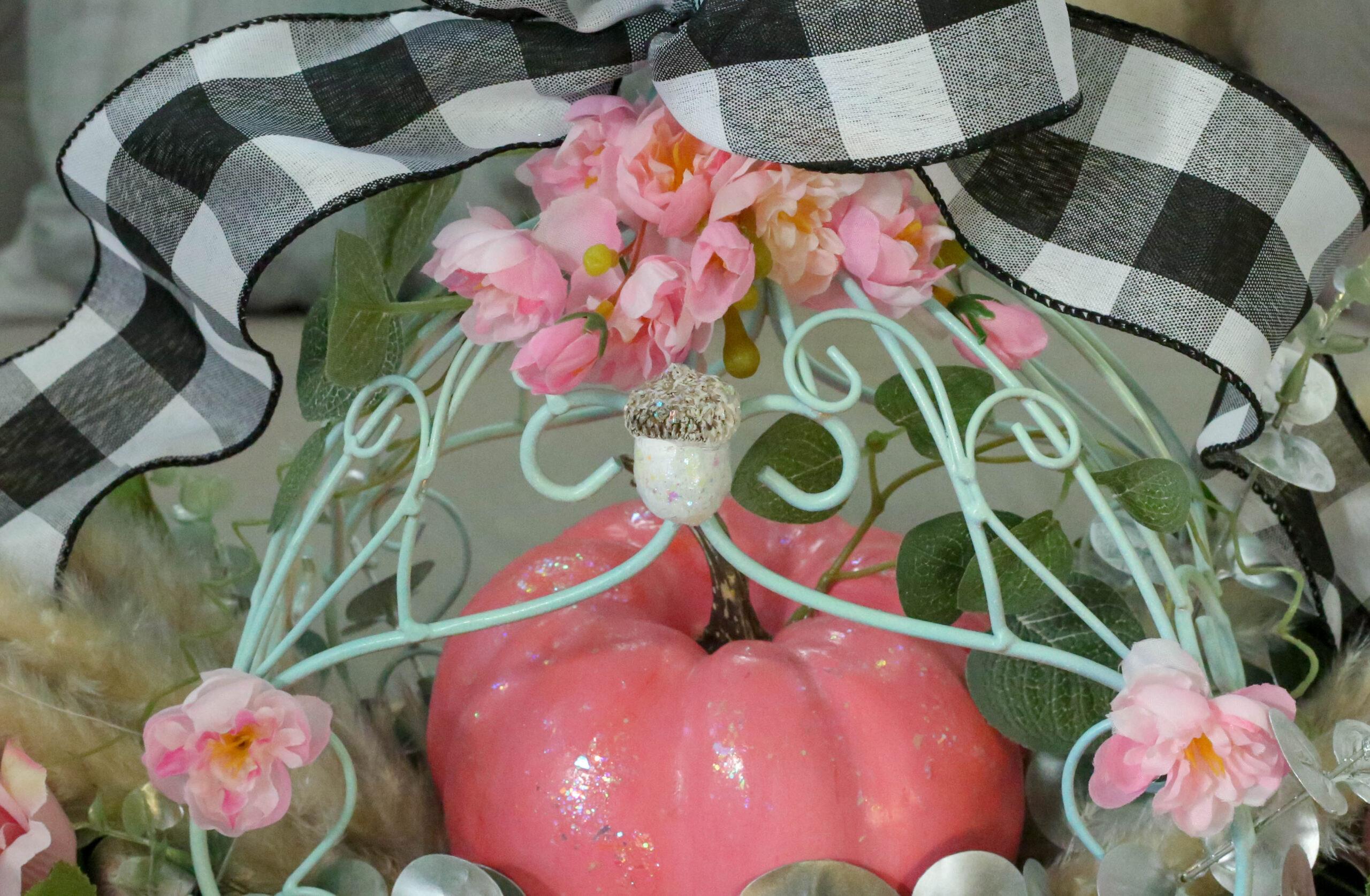 cinderella fall centerpiece